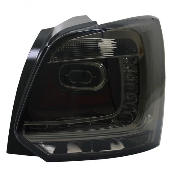 LED Rückleuchten für VW Polo 6R Bj. 2009-2014 Smoke/Schwarz