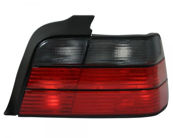 Rückleuchten Heuckleuchten BMW E36 Limo Bj. 90-98 Rot/Smoke