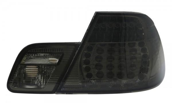 LED Rückleuchten für BMW E46 Coupe Bj. 99-03 Schwarz