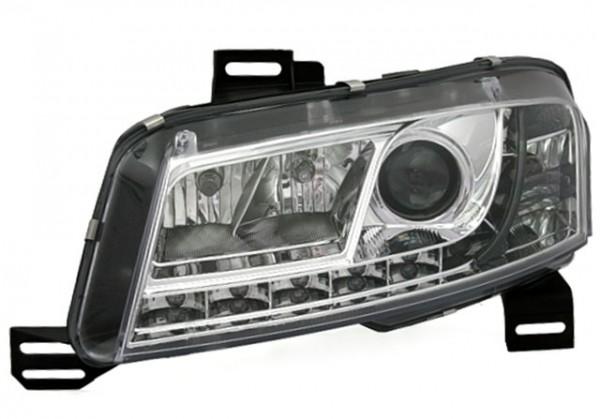 Scheinwerfer Tagfahrlicht Optik Fiat Stilo Bj. 01-08 Chrom