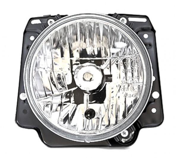 Scheinwerfer Klarglas für VW Golf 2 Typ 19E Bj. 83-92 Chrom
