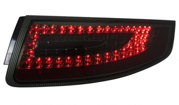 LED Rückleuchten für Porsche 911 997 Bj. 04-08 Schwarz/Smoke