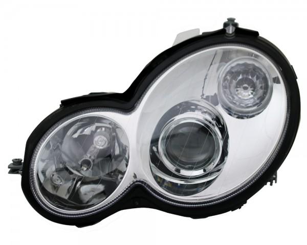 Scheinwerfer Klarglas Mercedes W203 CL203 Sportcoupe Chrom