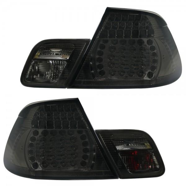 LED Rückleuchten für BMW E46 Cabrio Bj. 00-07 Schwarz