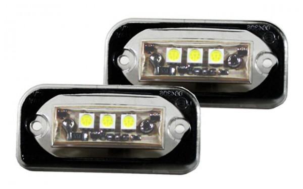 LED Kennzeichenbeleuchtung Mercedes W203 Limo Bj. 00-07