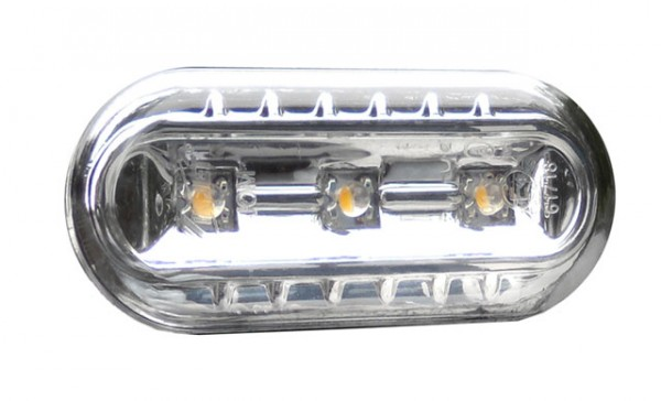 LED Seitenblinker Set Chrom für VW Polo 6N