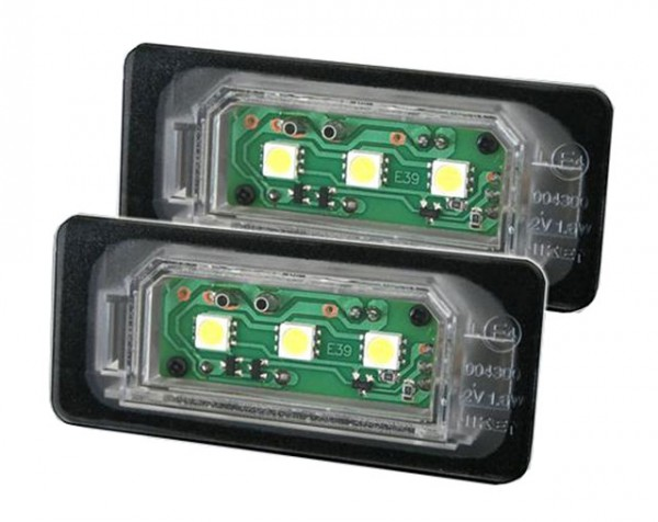LED Kennzeichenbeleuchtung BMW 5er E39 Limo
