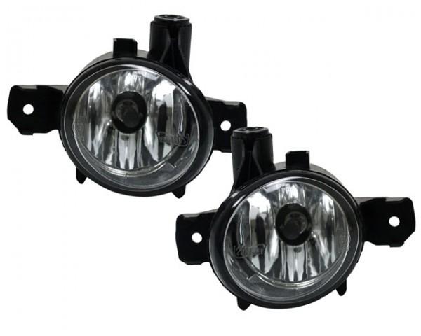 Nebelscheinwerfer Set Chrom für BMW 1er E81 E82 E87 E88