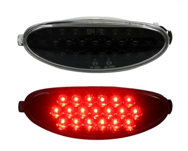LED Nebelschlussleuchte für Peugeot 206 / 206 CC Schwarz