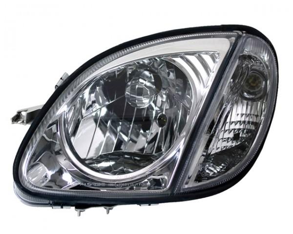 Scheinwerfer Klarglas Mercedes SLK R170 Bj. 96-04 Chrom