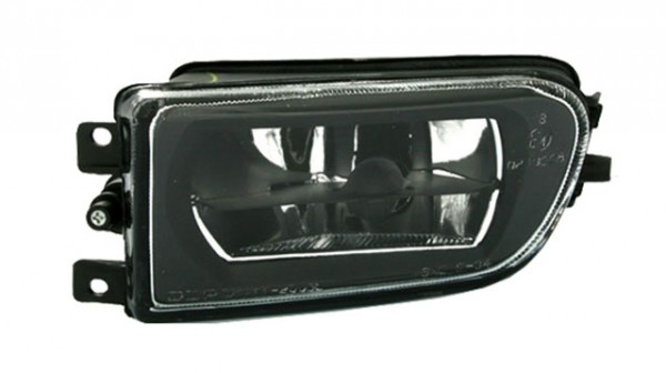 Klarglas Nebelscheinwerfer Schwarz für BMW E39 Bj. 95-03