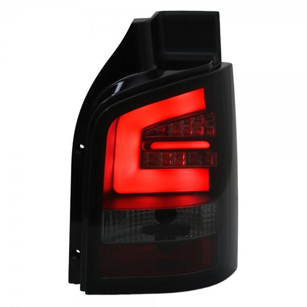 LED Lightbar Rückleuchten VW T5 Bj. 2010-2015 Schwarz/Smoke