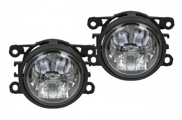 2 in 1 LED Tagfahrlicht + LED Nebelscheinwerfer für Nissan Note 05-