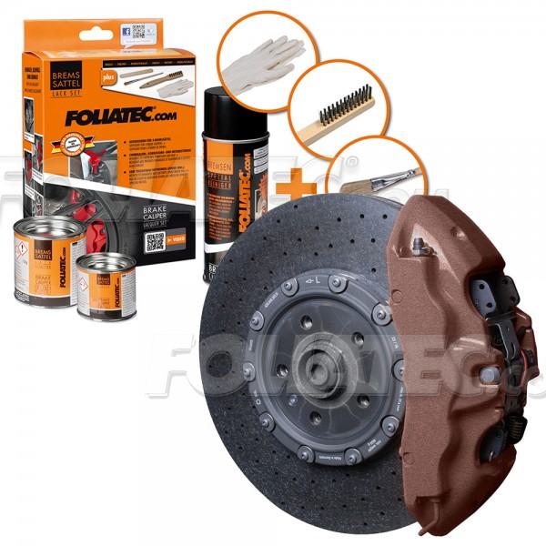 FOLIATEC Bremssattellack Kupfer metallic Bremssattelfarbe Bremssattel 2171