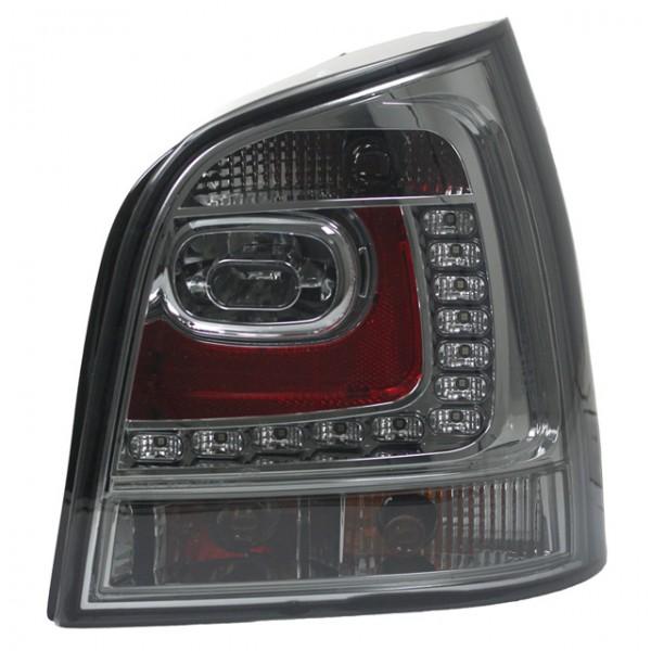 LED Rückleuchten in 6R Look für VW Polo 9N3 Bj. 05-09 Smoke