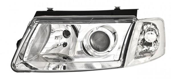 Scheinwerfer Klarglas für VW Passat 3B Bj. 96-00 Chrom