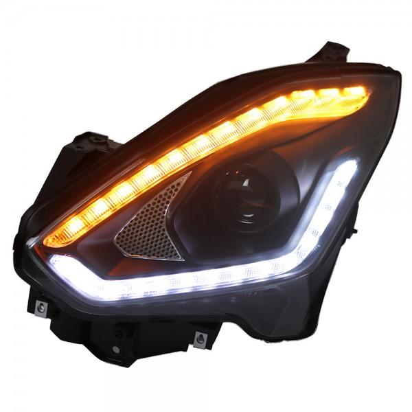 Scheinwerfer LED Tagfahrlicht für Suzuki Swift Bj. 2017- Schwarz dynamischer Blinker