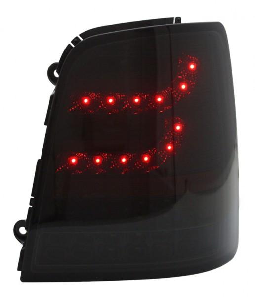 LITEC LED Rückleuchten für VW Touran 1T Bj. 03-10 Schwarz/Smoke