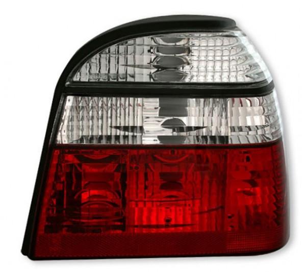 Rückleuchten VW Golf 3 Limo Bj. 91-97 Rot/Chrom