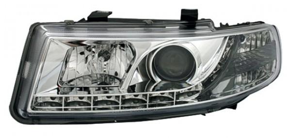 Scheinwerfer Tagfahrlicht Optik Seat Leon 1M Bj. 99-04 Chrom