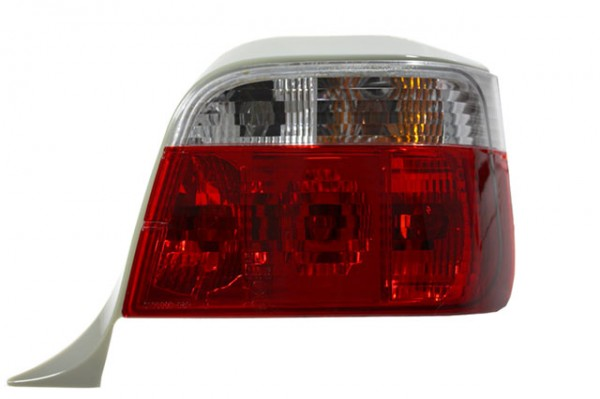 Rückleuchten Klarglas BMW E36 Touring Bj. 94-99 Rot/Chrom