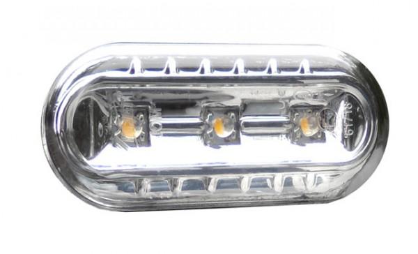 LED Seitenblinker Set Chrom für VW Passat 3B