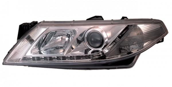 Scheinwerfer Tagfahrlicht Optik Renault Laguna Bj. 01-05 Chrom