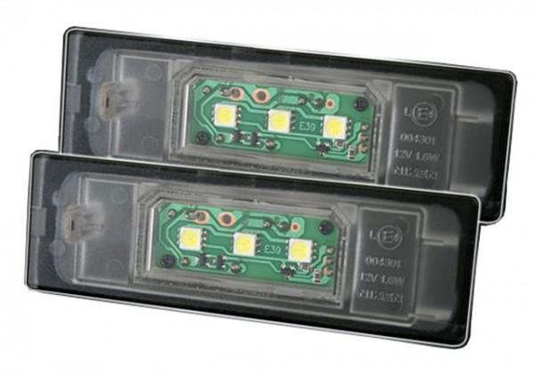 LED Kennzeichenbeleuchtung BMW 6er E63, E63 LCI