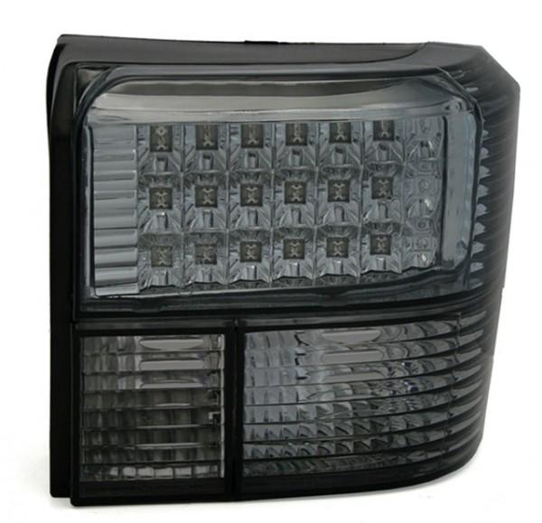 LED Rückleuchten Klarglas für VW T4 Bus Bj. 90-03 Schwarz