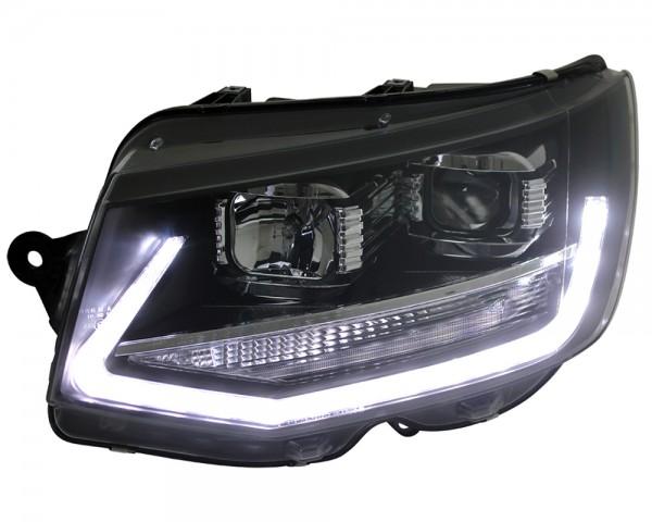 Scheinwerfer DRL LED Tagfahrlicht Lightbar VW T6 Bus Bj. 2015- Schwarz