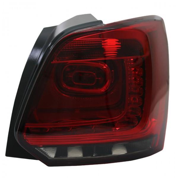 LED Rückleuchten für VW Polo 6R Bj. 2009-2014 Dunkelrot/Smoke