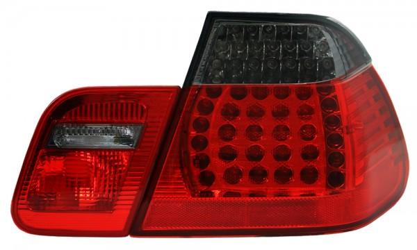 LED Rückleuchten BMW E46 Limo Bj. 98-01 Rot/Schwarz