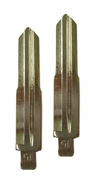 2 x Schlüsselrohling für Mitsubishi