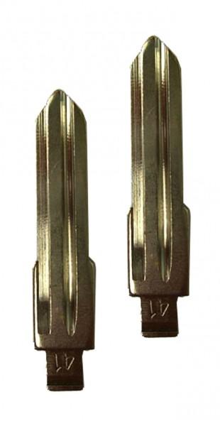 2 x Schlüsselrohling für Opel