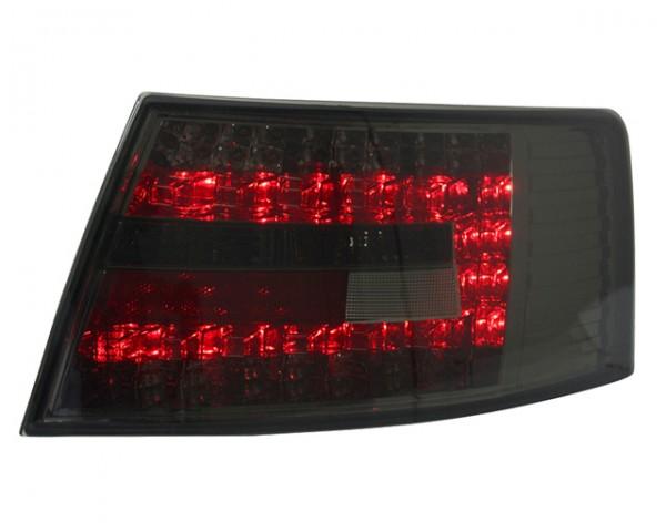LED Rückleuchten Audi A6 4F Limo Bj. 04-08 Smoke 7-PIN