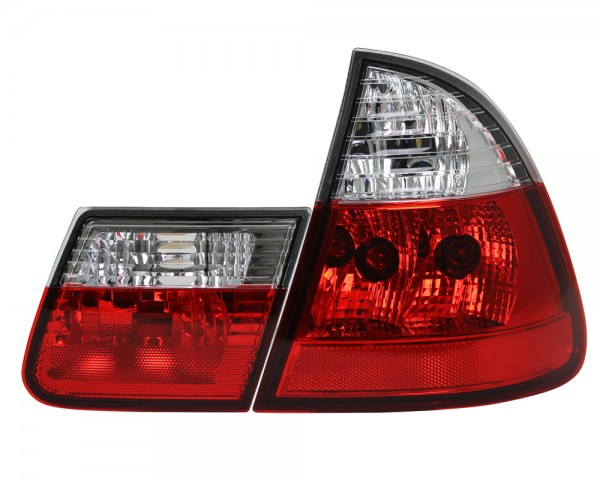 Rückleuchten BMW E46 Touring Bj. 99-05 Rot/Chrom