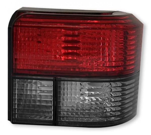 Rückleuchten Klarglas VW Bus T4 Bj. 90-03 Rot/Schwarz