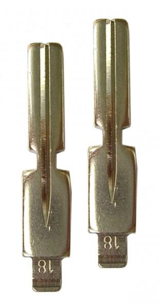 2 x Schlüsselrohling für BMW