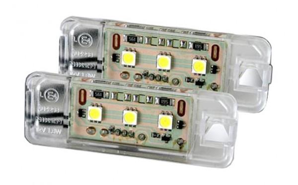 LED Kennzeichenbeleuchtung VW Scirocco Bj. 2008-