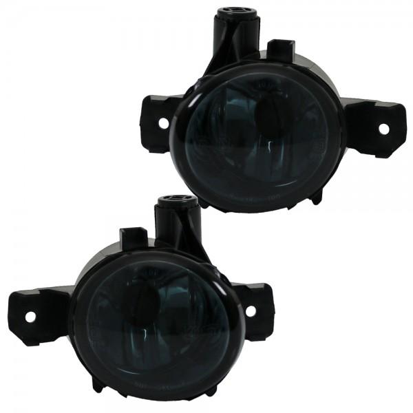 Nebelscheinwerfer Set Schwarz/Smoke für BMW X1 E84 X3 E83 X5 E70