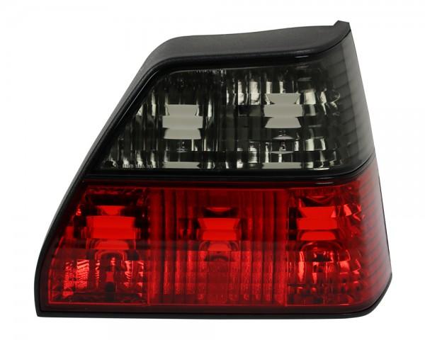 Rückleuchten Klarglas VW Golf 2 Bj. 83-92 Rot/Schwarz
