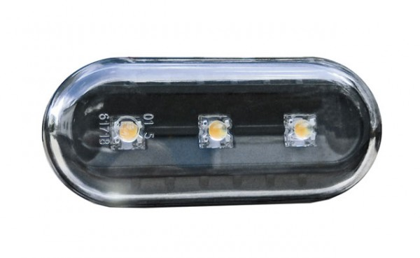 LED Seitenblinker Set Schwarz für Seat Ibiza 6K Bj. 93-99