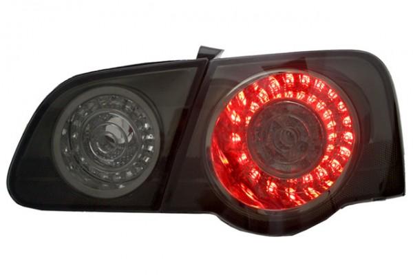 LED Rückleuchten für VW Passat 3C B6 Limo Bj. 05-10 Schwarz/Smoke